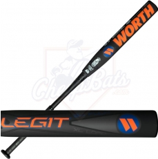CLOSEOUT 2017 Worth Legit XL BJ Fulk Slowpitch Softball Bat End Loaded USSSA WLGBJU