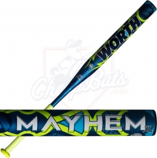 2019 Worth Mayhem XL Slowpitch Softball Bat End Loaded ASA USSSA WM19CA