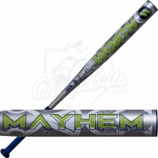 2020 Worth Mayhem Alloy Slowpitch Softball Bat ASA USSSA WM20AA