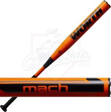 2021 Worth Mach 1 Slowpitch Softball Bat Balanced ASA USA WM21BA