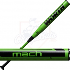 2021 Worth Mach 1 XL Slowpitch Softball Bat End Loaded ASA USA WM21MA