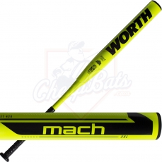 2021 Worth Mach 1 XXL Slowpitch Softball Bat End Loaded USSSA WM21MU