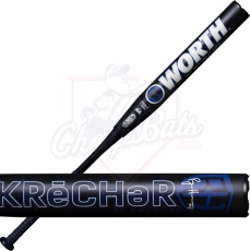 2021 Worth Krecher XL Slowpitch Softball Bat End Loaded USSSA WRH21U