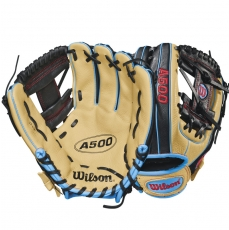 "CLOSEOUT Wilson A500 Baseball Glove 11.5"" WTA05RB18115"