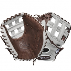 "Wilson A900 Aura Fastpitch Softball Catcher's Mitt 34"" WTA09RF18FPCM"