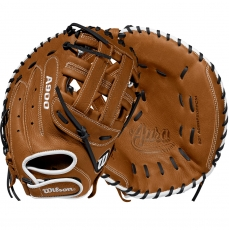 Wilson A900 Aura Fastpitch Softball Catcher's Mitt 33