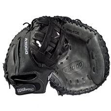 "Wilson A1000 Fastpitch Softball Catcher's Mitt 33"" WTA10RF19CM33"