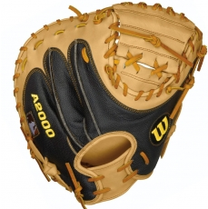 "Wilson A2000 SuperSkin Catcher's Mitt 34"" WTA20RB151790SS"