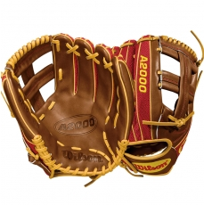 "Wilson A2000 Dustin Pedroia Baseball Glove 11.5"" WTA20RB18DP15GM"