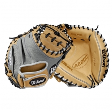 Wilson A2000 Pedroia Fit Baseball Catcher's Mitt 33