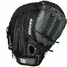 "Wilson A2000 SuperSkin Fastpitch Softball Catcher's Mitt 34"" WTA20RF15CM14SS"