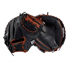 "CLOSEOUT Wilson A2K SuperSkin Baseball Catcher's Mitt 33.5"" WTA2KRB19M2SS"