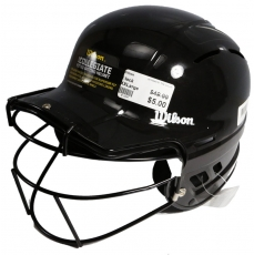 Wilson The One Fastpitch Batting Helmet WTA540125BL