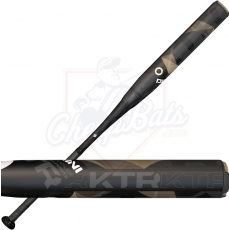 CLOSEOUT DeMarini Kiss The Ring Slowpitch Softball Bat USSSA End Loaded WTDXKTU-17