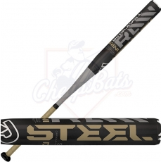 2016 DeMarini Raw Steel Slowpitch Softball Bat ASA USSSA End Loaded WTDXSTL-16