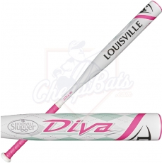 CLOSEOUT 2017 Louisville Slugger Diva Fastpitch Softball Bat -11.5oz WTLFPDV171