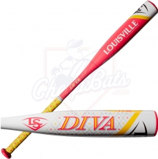 2018 Louisville Slugger Diva Fastpitch Softball Bat -11.5oz WTLFPDV18A115