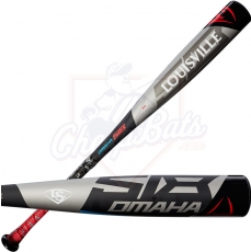 "CLOSEOUT 2018 Louisville Slugger Omaha 518 Youth Big Barrel Baseball Bat 2 3/4"" -10oz WTLSLO518X10"