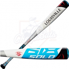 "2018 Louisville Slugger Solo 618 Youth Big Barrel Baseball Bat 2 3/4"" -10oz WTLSLS618X10"