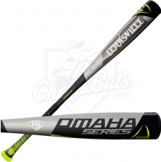 CLOSEOUT Louisville Slugger Omaha 518 Youth USA Baseball Bat -10oz WTLUBO518B10