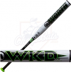 CLOSEOUT 2019 Worth Wicked XL Senior Slowpitch Softball Bat End Loaded SSUSA WWKD2P