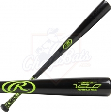 CLOSEOUT Rawlings Velo Wood Composite Youth Big Barrel Baseball Bat -5oz Y151CV