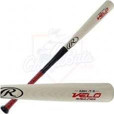 CLOSEOUT Rawlings Velo Ash Wood Youth Baseball Bat -7.5oz Y62VG
