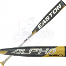 2020 Easton Alpha 360 Youth USA Baseball Bat -5oz YBB20AL5