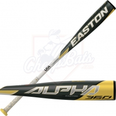 2020 Easton Alpha 360 Youth USA Baseball Bat -13oz YBB20AL13