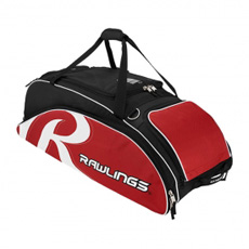 Rawlings All American Wheeled Baseball or Softball Bag AAPEB2