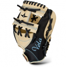 "All Star Vela 3 Finger Fastpitch Softball Glove 11.5"" FGSBV"