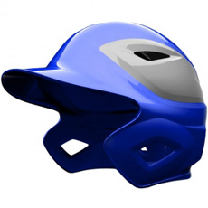 All Star System Seven Two Tone Matte Batting Helmet BH3000MTT