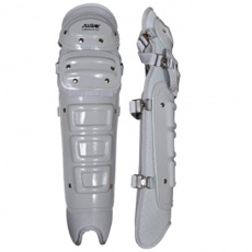 "All Star Umpire Leg Guards Low Profile 17"" LGU313"