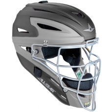 All Star MVP2510MTT Two Tone Catchers Helmet with Matte Finish - Youth