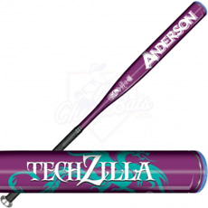 2012 Anderson Techzilla FP Fastpitch Bat -10oz 017024