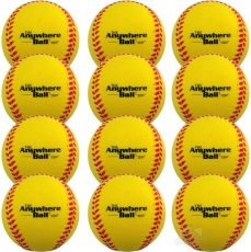 The Anywhere Ball (Mojo Ball) - Yellow - 12 Pack