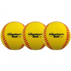 The Anywhere Ball (Mojo Ball) - Yellow - 3 Pack