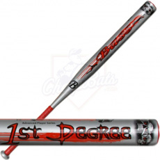 Bass First Degree Jeff Hall Softball Bat Silver JH13S