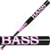 Bass Softball Bat Black Pinky Slow Pitch