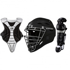Easton Black Magic Catcher's Set Jr. Youth A165013BX (Age 6-8)