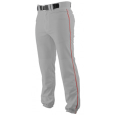 CLOSEOUT Rawlings Pro Weight Baseball Pant with Piping BLUE GREY BP350P
