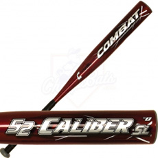 Combat 52 Caliber Baseball Bat Senior League -8oz. 52SL1