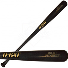 D-Bat Pro Birch DB-271 Adult Wood Baseball Bat