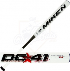 2015 Miken Denny Crine DC41 Softball Bat SUPERMAX USSSA Slowpitch BTGDCU