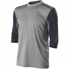 DeMarini Comotion Game T-Shirt Mid Sleeve Mens Grey/Navy