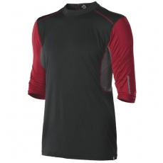 DeMarini Comotion Game T-Shirt Mid Sleeve Mens Black/Red