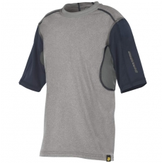 DeMarini Comotion Game T-Shirt Mid Sleeve Youth Grey/Navy