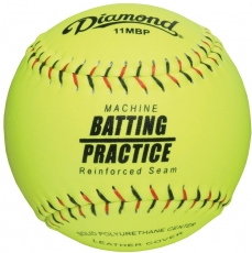 Diamond 11MBP Pitching Machine Batting Practice Softball (6 Dozen)