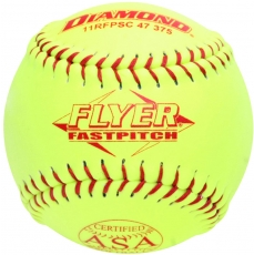 "Diamond Flyer Fastpitch Softball 11"" 11RFPSC 47 375 (6 Dozen)"