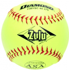 "Diamond Zulu Slowpitch Softball 11"" 11RYSC 44 375 (6 Dozen)"